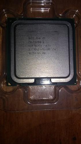 Procesador Intel Pentium D  Ghz Socket Lga 775