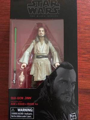 Qui Gon Jinn Star Wars The Black Series Nuevo Envío Gratis