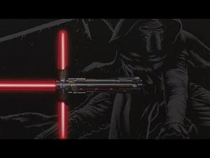 Sable Kylo Ren Fx Black Series Star Wars Episodio 7