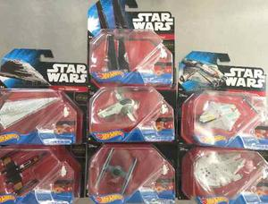 Set De 7 Naves Star Wars Hot Wheels Nuevas Envio Gratis