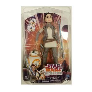 Star Wars Forces Of Destiny Rey Jakku Bb8 Hasbro Muñeca