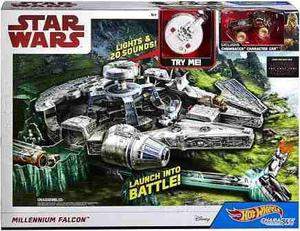 Star Wars Halcon Milenario The Last Jedi Hot Wheels Oferta
