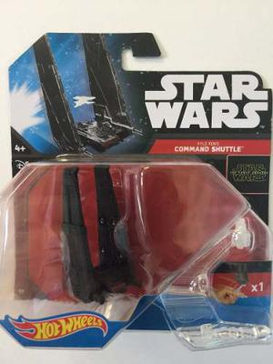 Star Wars Hot Wheels Command Shuttle Kylo Ren Nueva Sellada