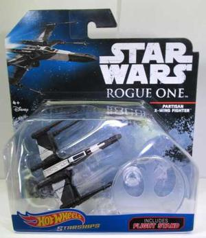 Star Wars Hot Wheels X Win Fighter Partisan Nuevo Sellado