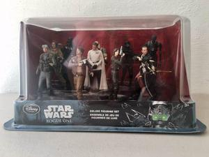 Star Wars Rogue One Deluxe Figuras Set Disney Store Nuevo