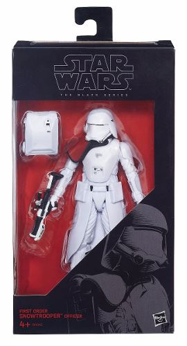 Star Wars Snowtrooper Officer First Order 6 Black Series