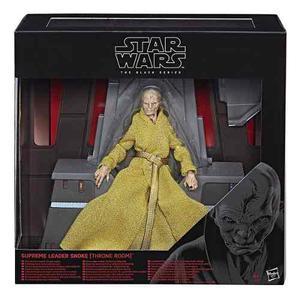 Star Wars The Black Series Supreme Leader Snoke Con Trono