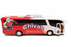 Autobus Chivas De Metal. 18 X 5 X 4cm
