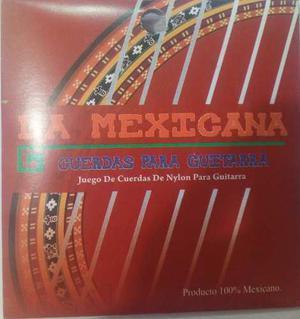 Cuerdas De Guitarra Acustica Nylon