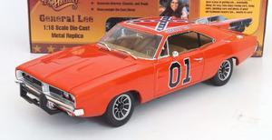 Dodge Charger  General Lee Escala 1.18 Autoworld