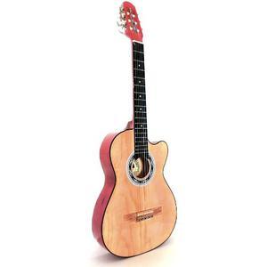 Guitarra Acústica Con Recorte 6 Cuerdas Varios Colores