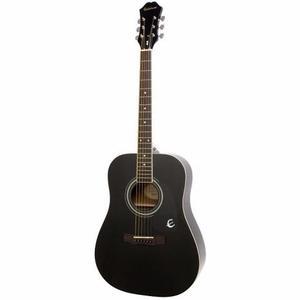 Guitarra Acústica Epiphone Dr-100 Negro Ea10ebch1 Confirma