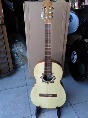 Guitarra Acústica Paloescrito Cerro Grande Paracho C/funda