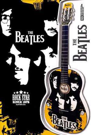 Guitarra Acústica The Beatles Paquete Todo Incluido!