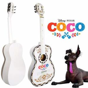 Guitarra Acustica Coco Disney Paquete Completo Para Navidad