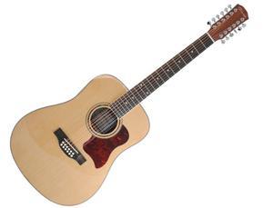 Guitarra Electro-acústica Caraya Feqn De 12 Cuerdas