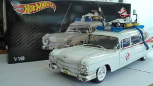 Hot Wheels Cazafantasmas Ecto 1 Escala 1/18 No Elite Env Gr