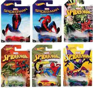 Hot Wheels Marvel Spiderman Hombre Araña Serie Completa
