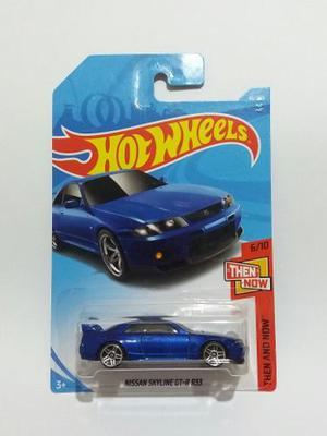 Hot Wheels Nissan Skyline Gtr R33 Primera Edición