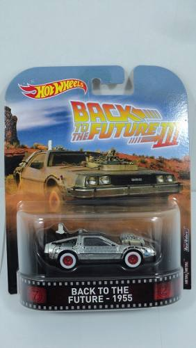 Hot Wheels Retro  * Back To The Future * Time Machin