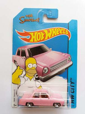 Hot Wheels The Simpsons Family Car Primera Edición