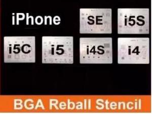 Kit Stencil Celular Iphone 4-5 Reballing Envio Gratis!!