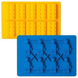 Molde Muñecos + Bloques Lego De Silicón + Envío Gratis