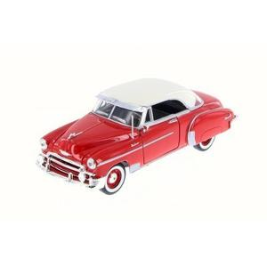 Motor Max  Chevrolet Bel Air Coupe Rojo Con Blanc