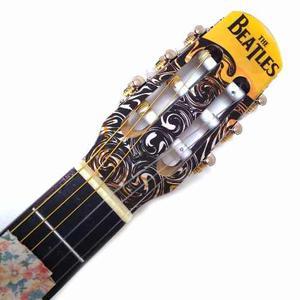 Paq. Guitarra Selecta Acústica The Beatles Respaldo Negro