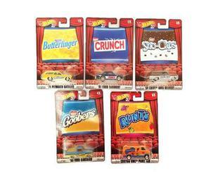 Serie Nestle Pop Culture Hot Wheels 5 Pzs Envío Gratis