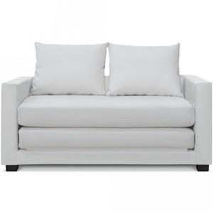 Sofacama Cancan Estilo Moderno Color Blanco