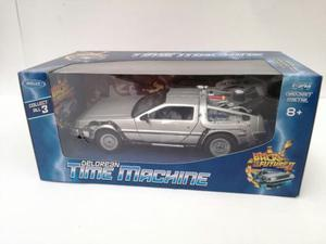 Time Machine De Lorean Volver Al Futuro 2 De Metal 1:24