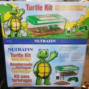Turtle Kit Nutrafin, Kit Tortuguero Totalmente Equipado