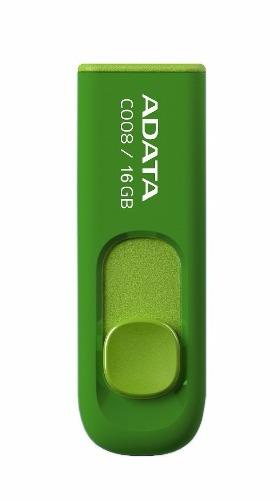 Adata Memorias Usb Portatil 16gb Retractil 2.0 C008 Verde