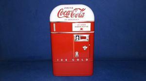 Alcancia De Coca Cola De Lamina Producto Oficial + Regalo