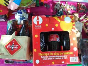 Botellas Coca Cola 80 Aniversario