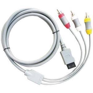 Cables Audio Y Video Para Nintendo Wii Nuevo En Blister Hd