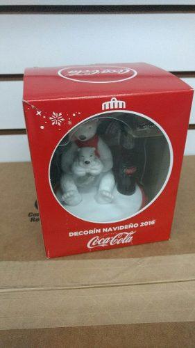 Coca Cola Decorin Navideño Oso