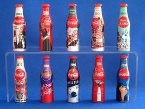 Coca Cola Edicion Especial Francesa Llavero Botella Aluminio
