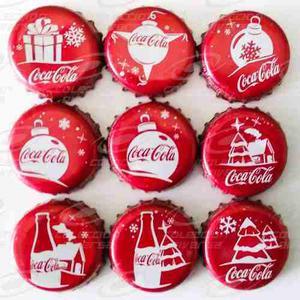 Coca Cola Navidad  Set De Corcholatas