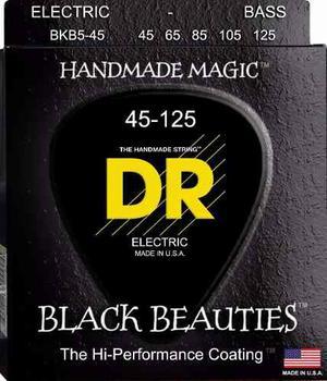 Cuerdas Bass Bajo 5 Dr Black Beauties Bkb5-45 Envío Gratis
