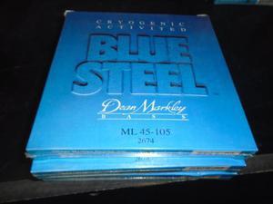 Cuerdas De Bajo Blue Steel 4 Cuerdas