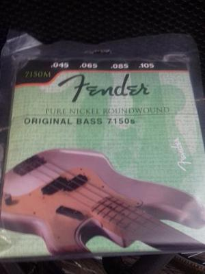 Cuerdas Para Bajo Fender Bass 4