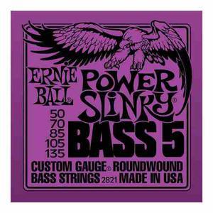 Ernie Ball 5 Cuerdas Bajo Eléctrico Power Slinky Bass