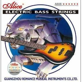 Juego De Cuerdas Alice Para Bajo Electrico 4 Cdas. A606