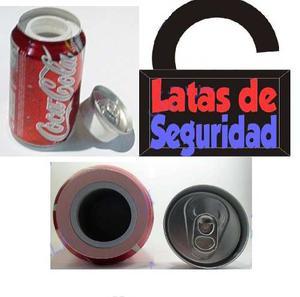 Lata De Seguridad Coca Cola Mejor Que Una Caja Fuerte.