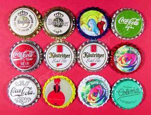 Lote 12 Corcholatas Sin Coronar Nuevas Incluye Coca Cola