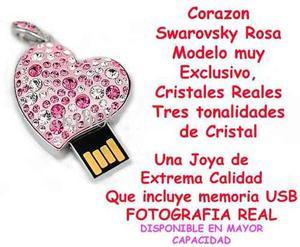 Memoria Usb Corazon 32gb Estuche Y Envio Incluido