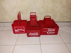 Porta Envases Coca Cola Para Refresco De Vidrio Y Plástico