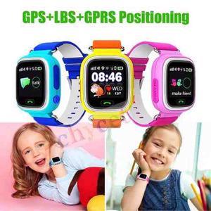Reloj Celular Q90 Gps Localizador Niños Smart Watch